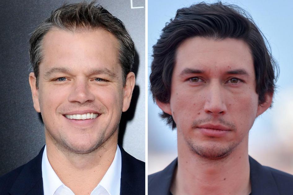 #casting doublures Matt Damon, Adam Driver et Jodie Comer pour film de Ridley Scott