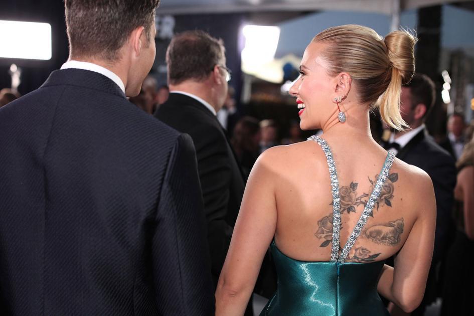#casting femme ressemblant à Scarlett Johansson de dos pour tournage sketch