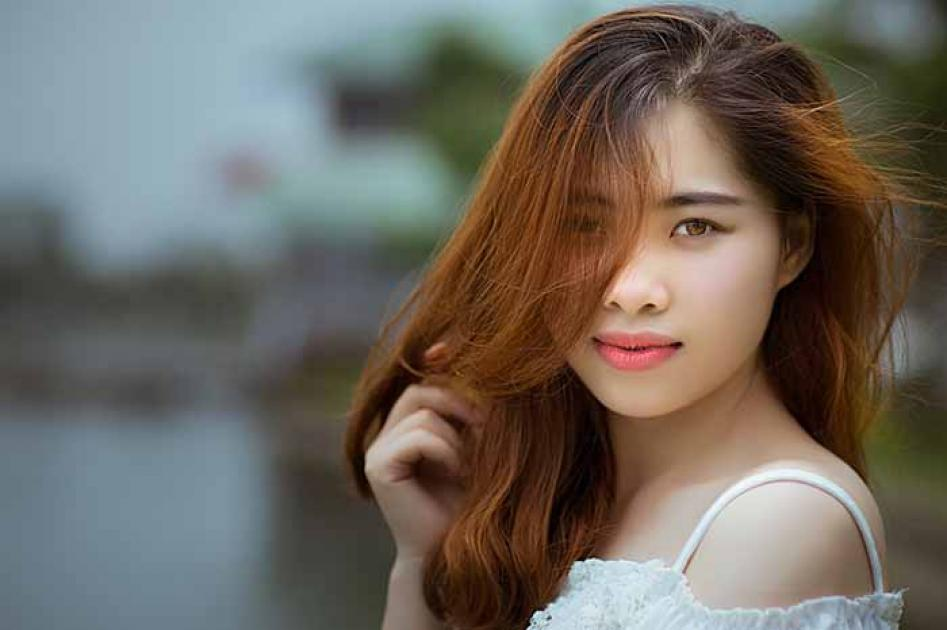 #figuration #silhouette jeune fille #Thaï pour la série