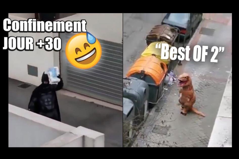 #confinement Les vidéos drôles du confinement ! Jour+30