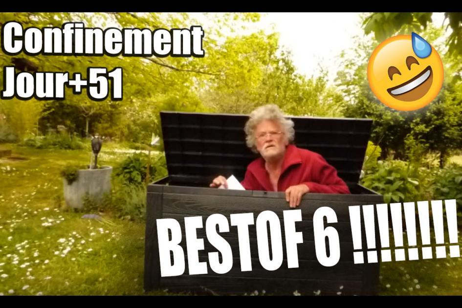 #confinement Les vidéos drôles du confinement ! Jour+51