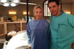 #casting doublures image d'Hélène de Fougerolles et Tomer Sisley pour tournage série TF1
