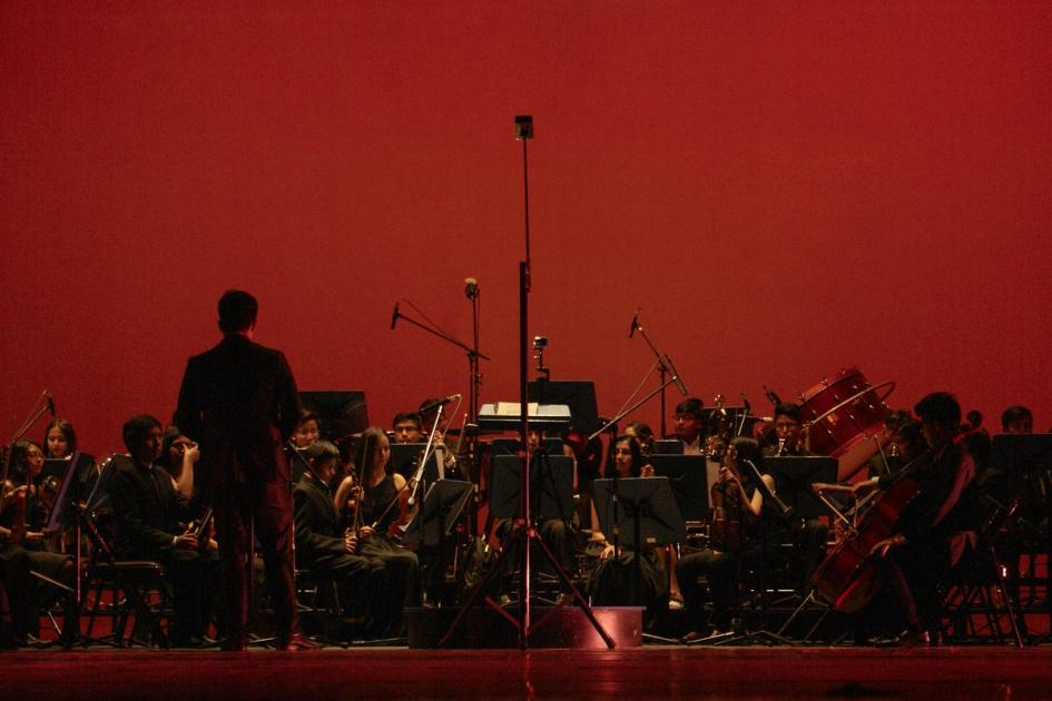 #casting orchestre symphonique ou harmonique pour tournage série télévisée