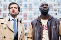 #figuration hommes caucasiens à l'air menaçant pour un film avec Omar Sy et Laurent Laffitte