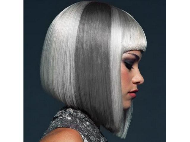 Femmes #Modèles #blondes longueurs carré pour un concours #coiffure #Paris