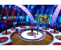 #Figuration TV pour nouveau jeu sur #C8 :