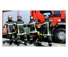 #figurants 20/50 ans avec tenue de #pompier pour long-métrage avec Romain Duris #Paris