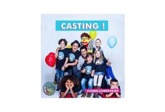 #enfants âgés entre 4 et 12 ans, marrants, drôles pour le Jamel Comedy Kids #Canal+
