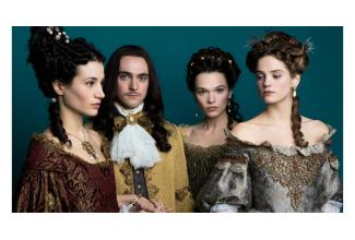 #figuantes #jolie #rousse 18/25 ans pour tournage de la série #Versailles #Canal+