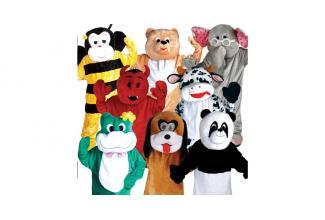 Plusieurs #figurants pour faire des #mascottes dans le cadre d'un opération