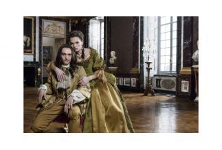 #figurants hommes et femmes très #maigres pour la série #Versailles saison 3 #Paris