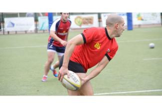 #figurant #rugbyman pour le tournage du film
