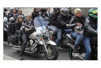 #figuration #Motard avec sa #moto pour le film