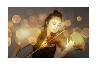#figuration femme maitrise du #violon pour nouvelle série