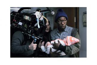 #figuration #bebe pour le tournage du film