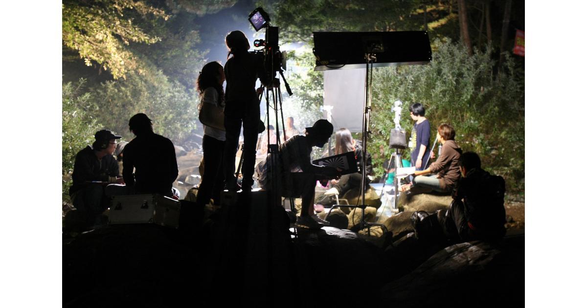 #figuration #silhouette femme pour le tournage d'un clip #Paris
