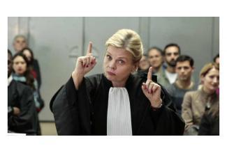 #figuration #femme 40 ans #blonde pour le tournage de la série Munch avec Isabelle Nanty