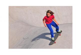 #figuration #skateur #skateboard pour tournage d'un clip #Paris #Levallois