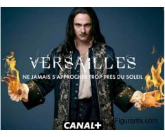 Figurants hommes et femmes aux cheveux longs pour la série Versailles sur Canal+