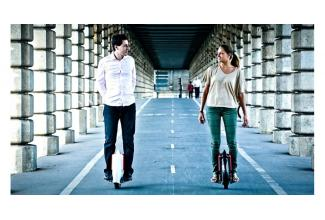 #figuration homme avec #mono-roue pour le film