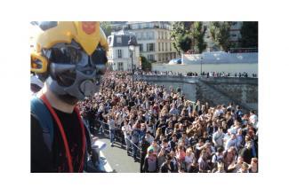 #FIGURANTS âgés H/F #TECHNOPARADE – samedi 22 septembre 2018 / à Paris 14h à 20h