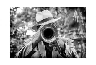 #figurants #musiciens #pianiste #jazzman #trompette pour tournage long-métrage