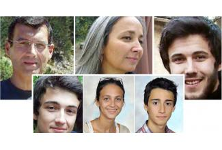 #figuration silhouettes ressemblant aux membres de la famille Dupont de Ligonnès pour documentaire