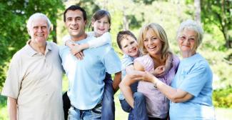 #figuration une famille vivant loin de leurs enfants/petits-enfants pour tournage publicité